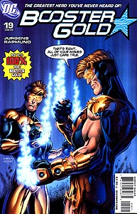 Booster Gold 19.  Image Copyright DC Comics
