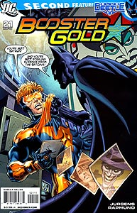 Booster Gold 21.  Image Copyright DC Comics