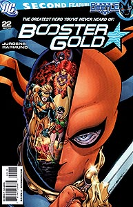 Booster Gold 22.  Image Copyright DC Comics