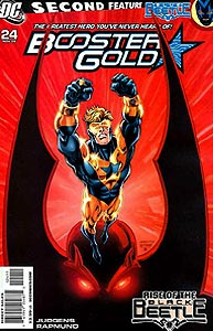 Booster Gold, Vol. 2, #24. Image © DC Comics