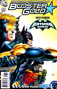 Booster Gold, Vol. 2, #25. Image © DC Comics