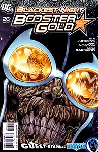 Booster Gold 26.  Image Copyright DC Comics