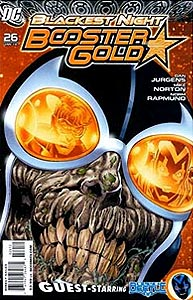 Booster Gold 26. Reprint Cover Image Copyright DC Comics