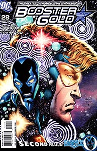 Booster Gold, Vol. 2, #28. Image © DC Comics