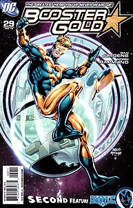 Booster Gold 29.  Image Copyright DC Comics