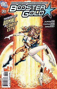 Booster Gold 30.  Image Copyright DC Comics