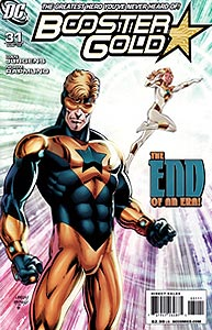 Booster Gold 31.  Image Copyright DC Comics