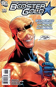 Booster Gold 32.  Image Copyright DC Comics