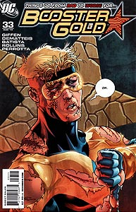 Booster Gold 33.  Image Copyright DC Comics