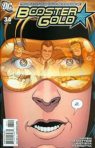 Booster Gold 34.  Image Copyright DC Comics
