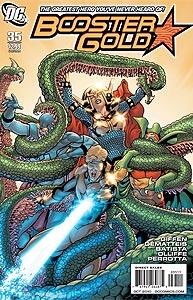 Booster Gold, Vol. 2, #35. Image © DC Comics