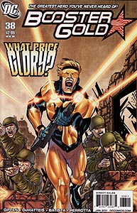 Booster Gold 38.  Image Copyright DC Comics