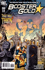 Booster Gold 39.  Image Copyright DC Comics