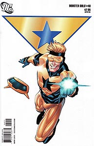 Booster Gold 40.  Image Copyright DC Comics
