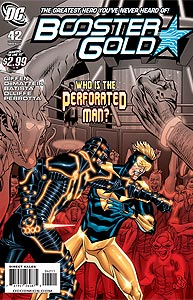 Booster Gold 42.  Image Copyright DC Comics