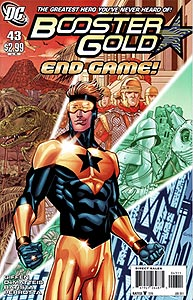 Booster Gold 43.  Image Copyright DC Comics
