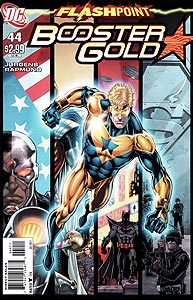 Booster Gold, Vol. 2, #44. Image © DC Comics