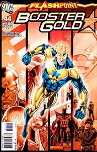 Booster Gold 44. Reprint Cover Image Copyright DC Comics