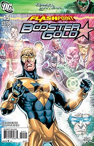 Booster Gold 45.  Image Copyright DC Comics