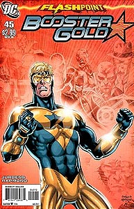 Booster Gold 45. Reprint Cover Image Copyright DC Comics