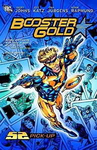 Booster Gold: 52 Pick-Up 1.  Image Copyright DC Comics