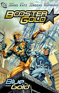 Booster Gold: Blue and Gold 1.  Image Copyright DC Comics