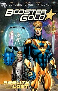 Booster Gold: Reality Lost 1.  Image Copyright DC Comics