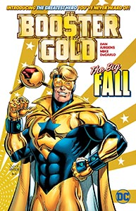 Booster Gold: The Big Fall, Vol. 1, #1. Image © DC Comics