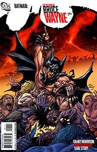 Batman: The Return of Bruce Wayne 1.  Image Copyright DC Comics