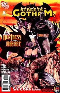 Batman: Streets of Gotham, Vol. 1, #5. Image © DC Comics