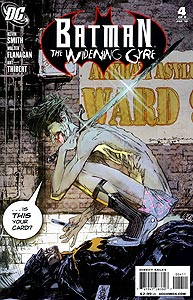 Batman: The Widening Gyre 4.  Image Copyright DC Comics