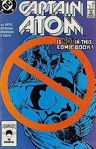 Captain Atom, Vol. 1, #10. Image © DC Comics