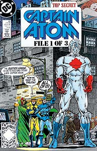 Captain Atom 26.  Image Copyright DC Comics