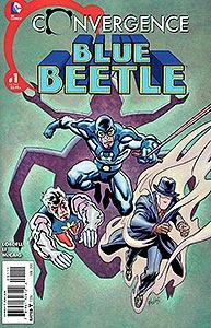 Convergence Blue Beetle, Vol. 1, #1. Image © DC Comics