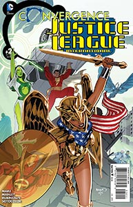 Convergence Justice League International, Vol. 1, #2. Image © DC Comics