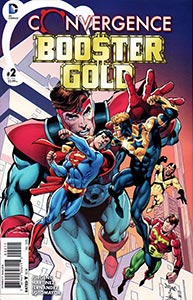 Convergence Booster Gold 2.  Image Copyright DC Comics