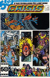 Crisis on Infinite Earths, Vol. 1, #11. Image © DC Comics
