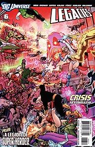 DC Universe: Legacies, Vol. 1, #6. Image © DC Comics