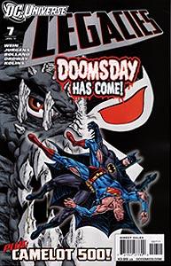 DC Universe: Legacies, Vol. 1, #7. Image © DC Comics