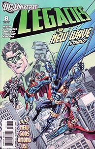 DC Universe: Legacies, Vol. 1, #8. Image © DC Comics