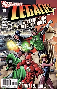 DC Universe: Legacies, Vol. 1, #10. Image © DC Comics