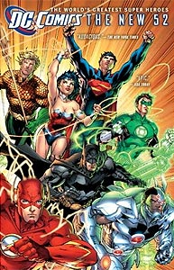 DC Comics: The New 52, Vol. 1, #1. Image © DC Comics