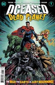 DCEASED: Dead Planet, Vol. 1, #1. Image © DC Comics