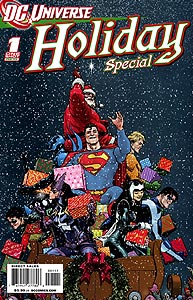DC Universe Holiday Special 1.  Image Copyright DC Comics