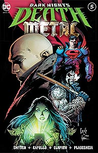 Dark Nights: Death Metal, Vol. 1, #5. Image © DC Comics