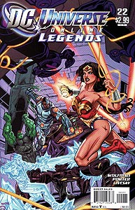 DC Universe Online Legends, Vol. 1, #22. Image © DC Comics