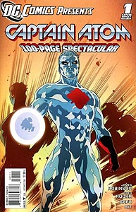 DC Comics Presents: Captain Atom 1.  Image Copyright DC Comics