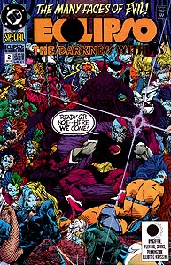 Eclipso: The Darkness Within, Vol. 1, #2. Image © DC Comics
