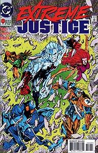 Extreme Justice 0.  Image Copyright DC Comics