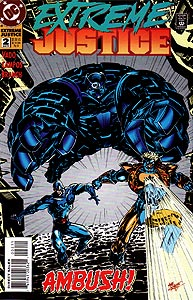 Extreme Justice, Vol. 1, #2. Image © DC Comics